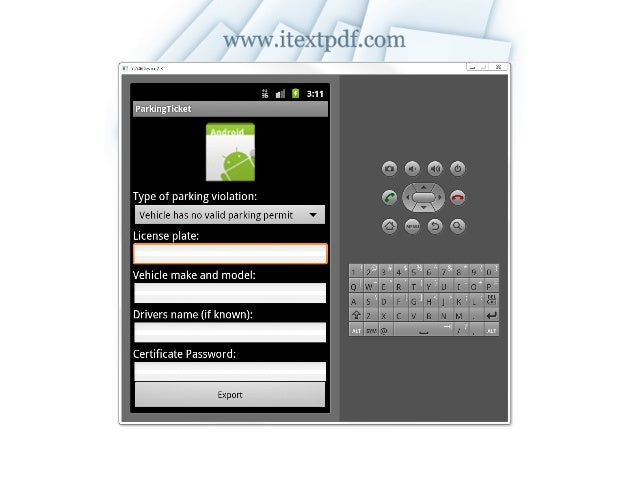 Creating PDF on Android / Google App Engine