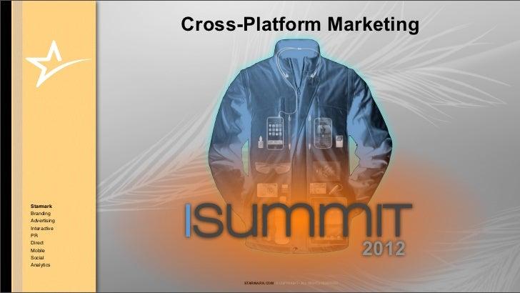 Cross-Platform MarketingStarmarkBrandingAdvertisingInteractivePRDirectMobileSocial              isummit                   ...