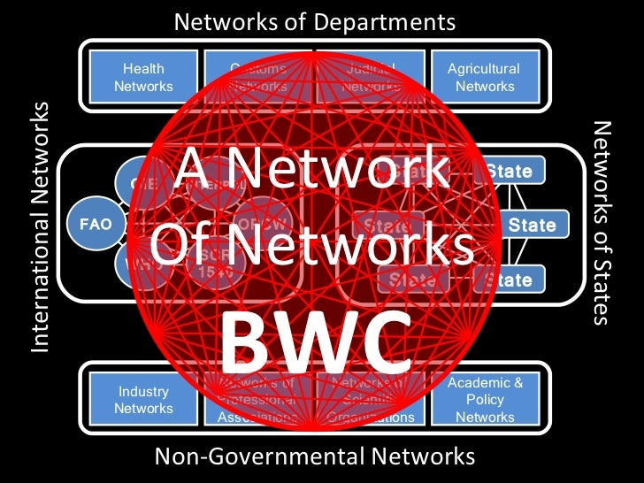 Networks of Departments                                Health          Customs         Judicial      Agricultural         ...