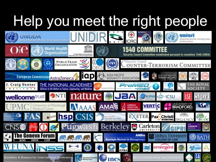 Help you meet the right people