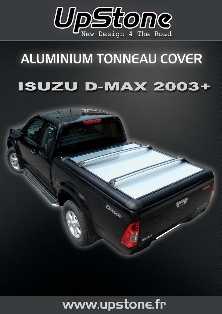 TONNEAU COVER ALU ISUZU D-MAX Upstone chez autoprestige-4x4