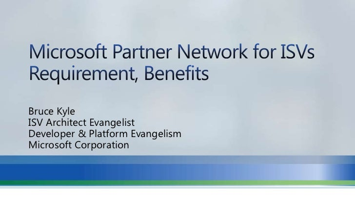 Microsoft Partner Benefits for Software Companies