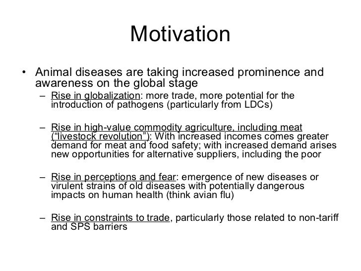 The Poverty Impacts Of Animal Diseases In Developing Countries New R