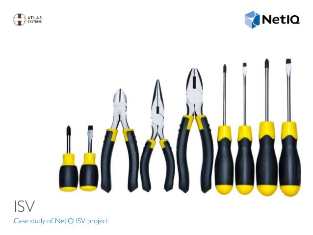 ISV Case study of NetIQ ISV project