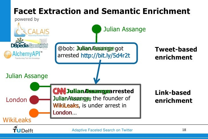 Facet Extraction and Semantic Enrichment   powered by                                        Julian Assange               ...