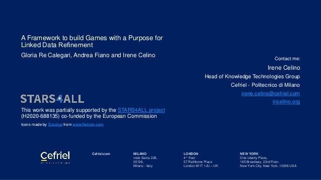 MILANO viale Sarca 226, 20126, Milano - Italy LONDON 4° floor 57 Rathbone Place London W1T 1JU – UK NEW YORK One Liberty P...