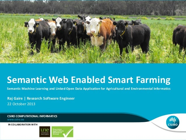 Semantic Web Enabled Smart Farming Semantic Machine Learning and Linked Open Data Application for Agricultural and Environ...