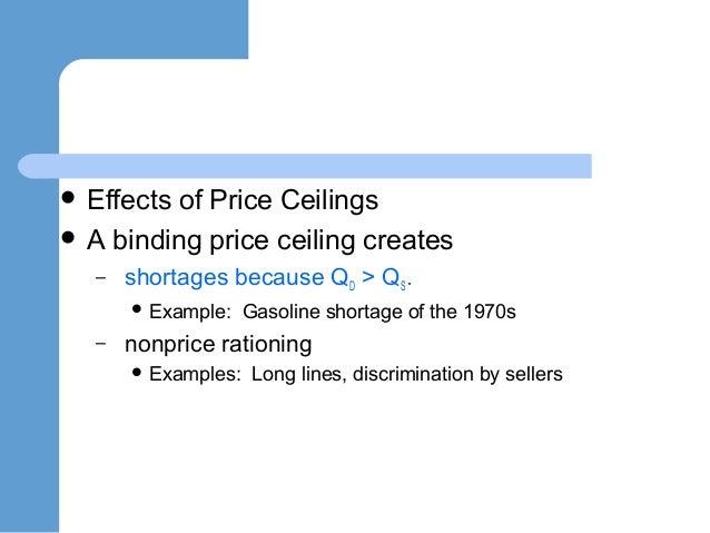 Price Floors ...