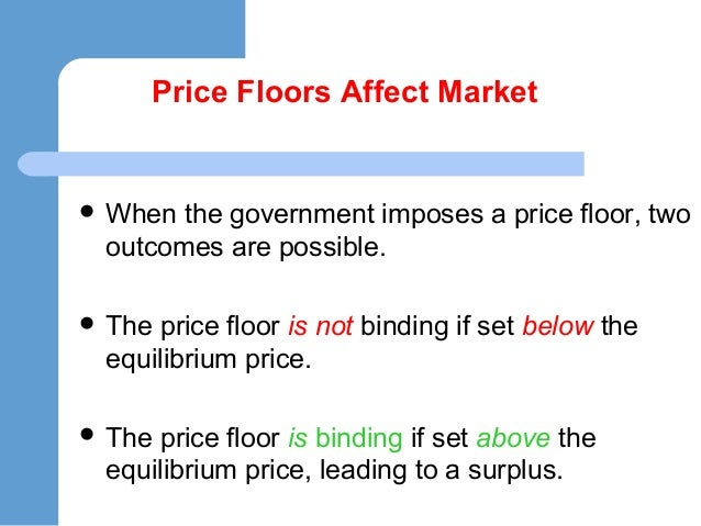 Price Control Price Ceilings Amp Price Floors