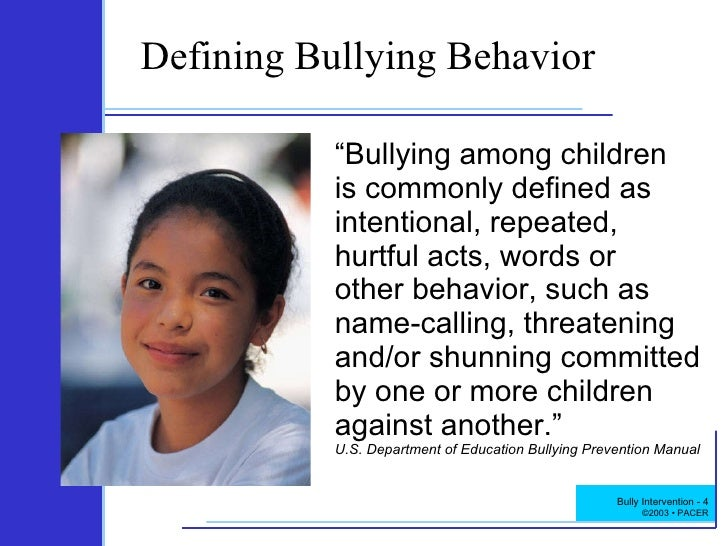 bullying amoung juveniles In general, these programs try to explain bullying and its effects, to teach strategies to avoid bullying or for intervening, and to build social cohesion among students many of these programs have been evaluated, and some have been found to be effective in improving desired outcomes (see related programs for a list of curriculum-based programs included on crimesolutionsgov).