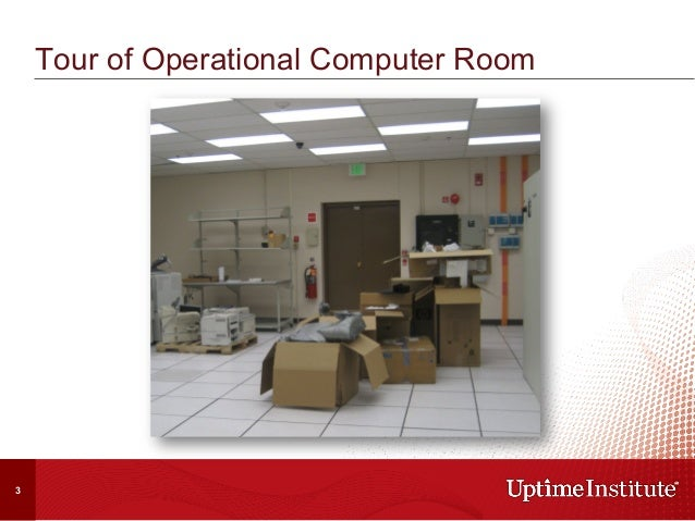 Tour of Operational Computer Room 3