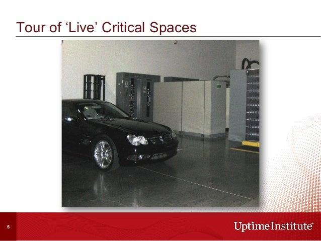 Tour of 'Live' Critical Spaces 5