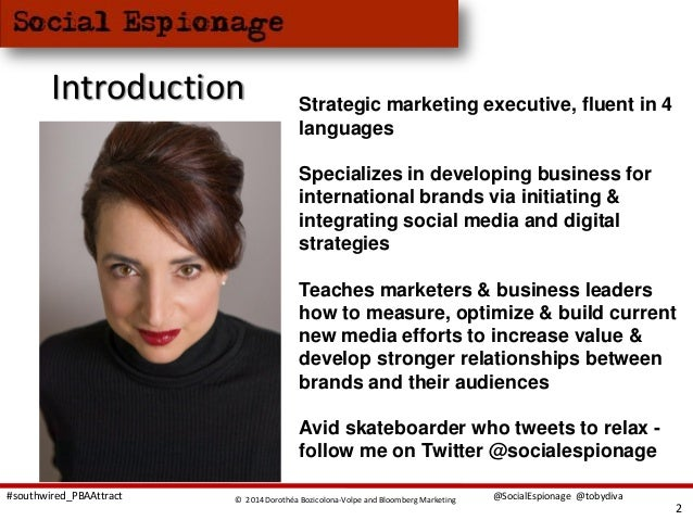 Is Your Personal Brand Attracting The Right Audience Presented At SouthWired14 Slide 2