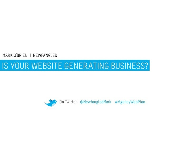 our Website Generating Business?