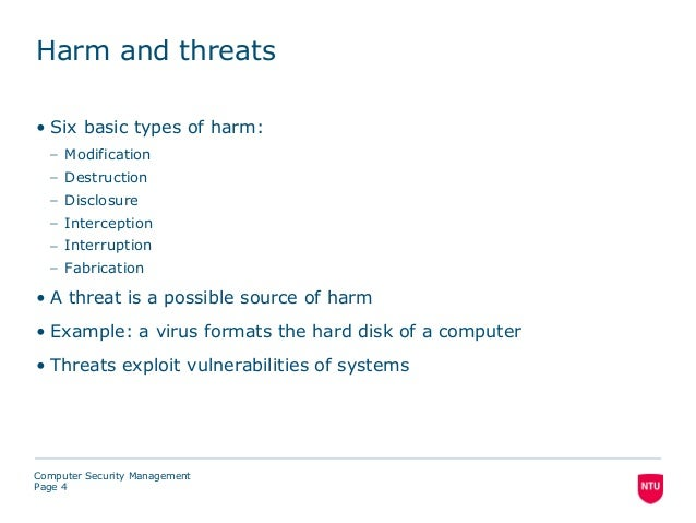 Examples List on Interruption Interception Modification And Fabrication Attacks Computer Science