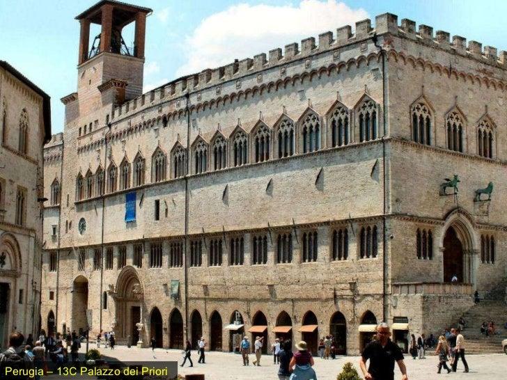 Perugia – 13C Palazzo dei Priori