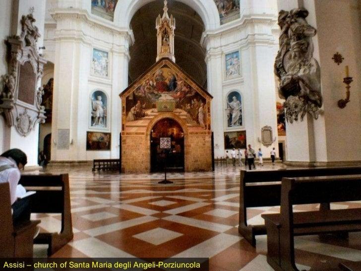 Assisi – church of Santa Maria degli Angeli-Porziuncola