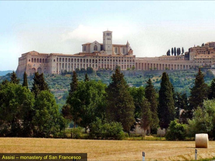 Assisi – monastery of San Francesco