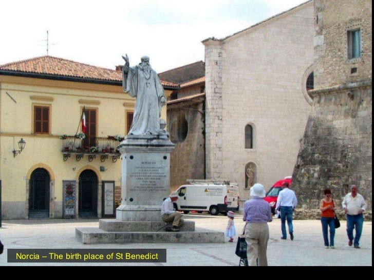 Norcia – The birth place of St Benedict