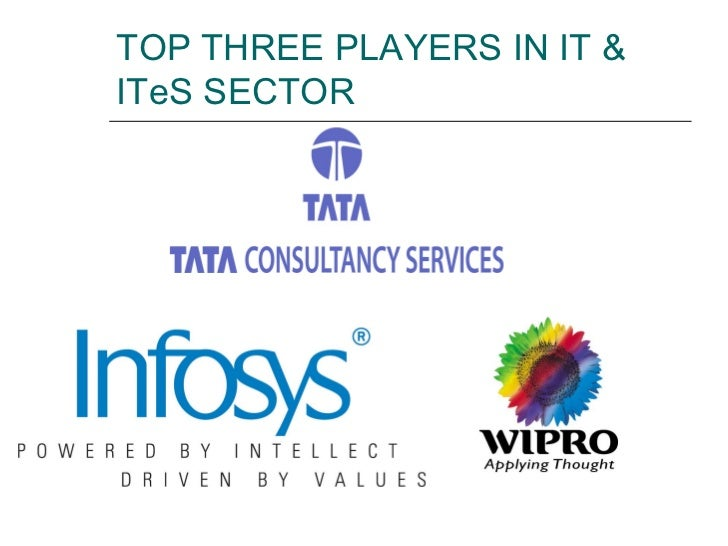 TOP THREE PLAYERS IN IT & ITeS SECTOR
