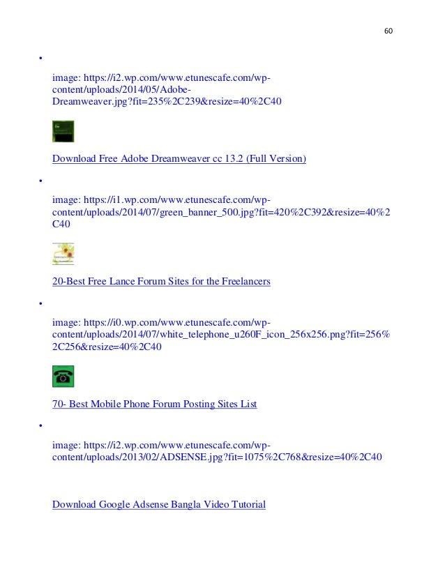 Seo Forum List