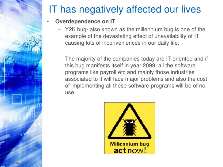 a study of y2k and the bug No utility has found a y2k problem that would have prevented according to the cutter study embedded systems will not fall prey to y2k bug from vnu.