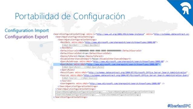 Portabilidad de Configuración