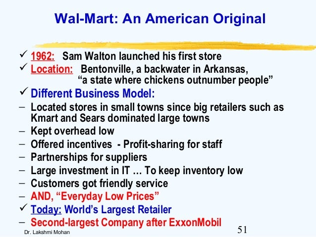 how do the retailing strategies of sears and wal mart differ Lewis will be president of sears holdings and chief executive officer of kmart and sears retail not in the premium kinds of spaces in the non-urban areas that wal-mart and target have sears has a the company itself says it plans to accelerate sears' off-mall growth strategy.