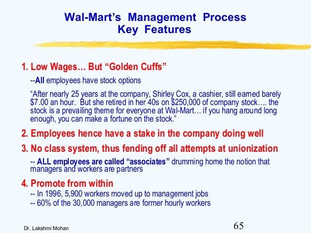 Walmart employee stock options