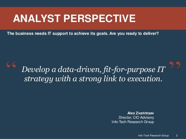 Define an IT Strategy and Roadmap Slide 2