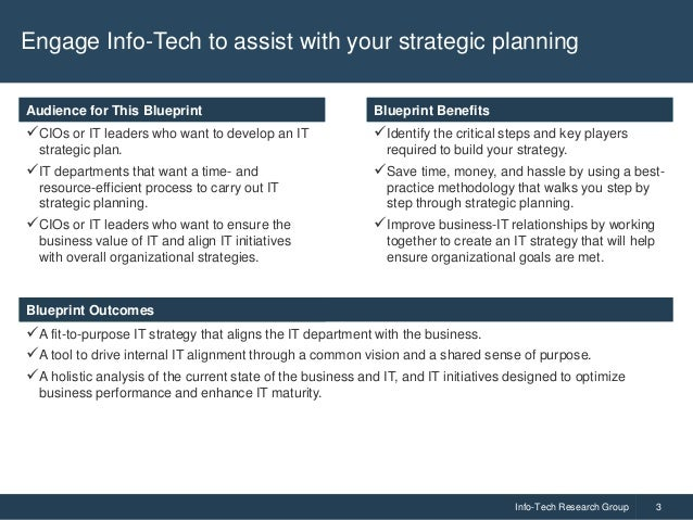 Define an IT Strategy and Roadmap Slide 3