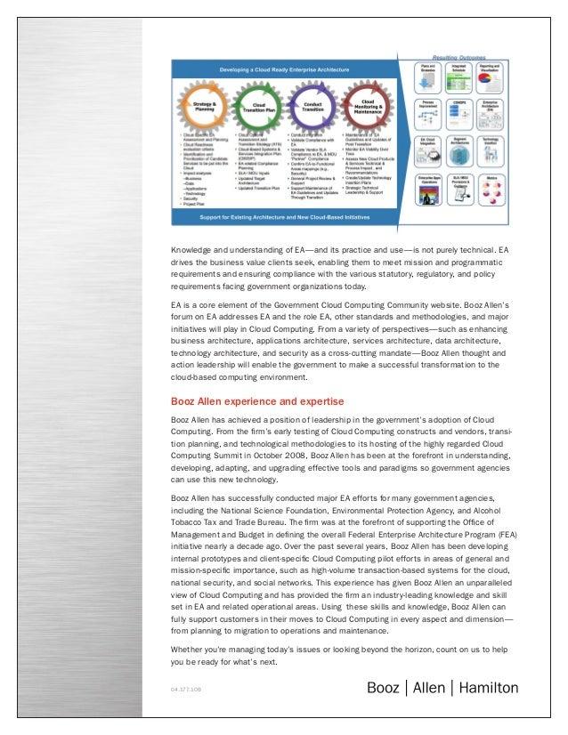 Enterprise Architecture and Cloud Computing  Slide 2