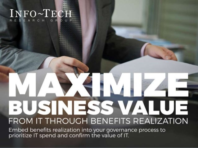 Info-Tech Research Group 1Info-Tech Research Group 1 Info-Tech Research Group, Inc. is a global leader in providing IT res...