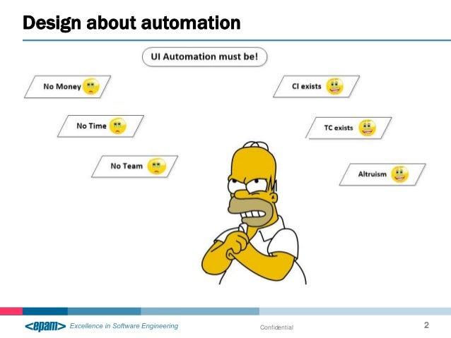 Design about automation Confidential 2