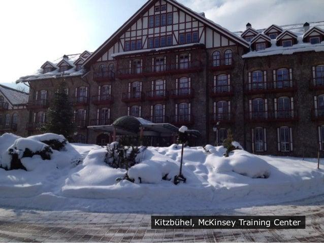 Kitzbühel, McKinsey Training Center