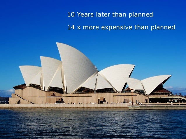 10 Years later than planned 14 x more expensive than planned