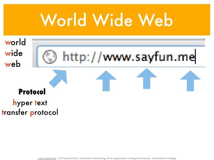 World Wide Webworldwideweb     Protocol                                                                                   ...