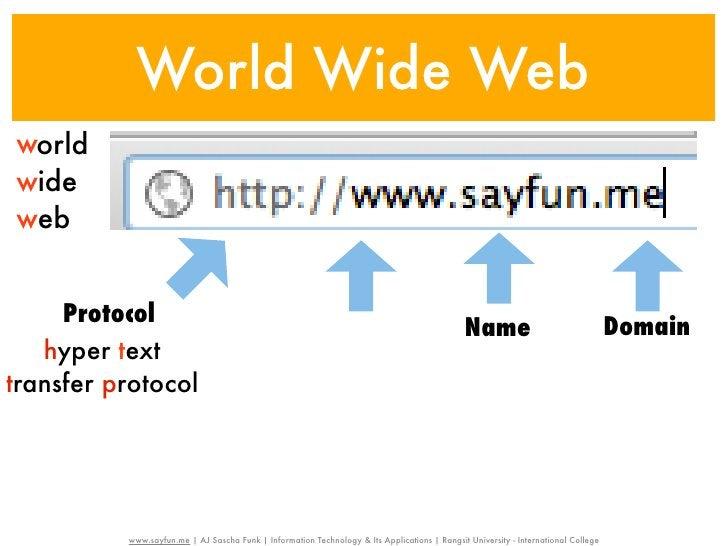 World Wide Webworldwideweb     Protocol                                                       world                       ...