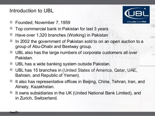 Number of bank branches in pakistan