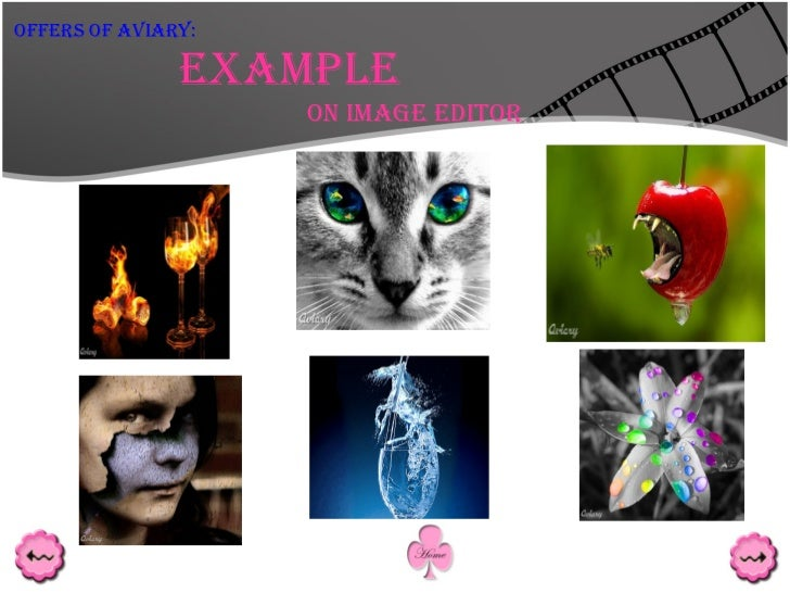 Example On Image Editor Offers Of Aviary: