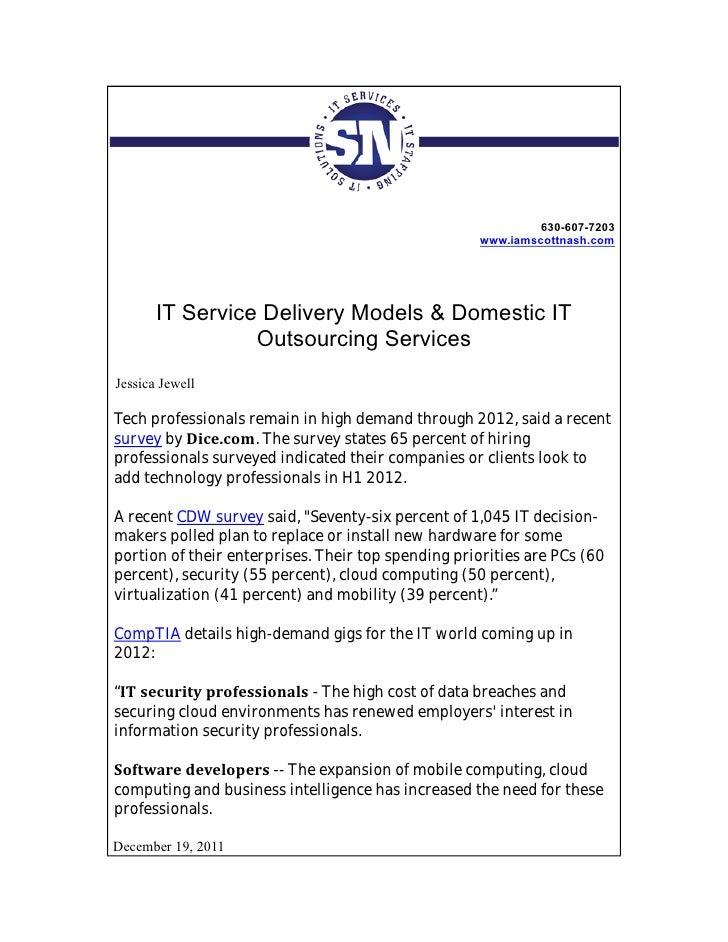 630-607-7203                                                    www.iamscottnash.com       IT Service Delivery Models & Do...