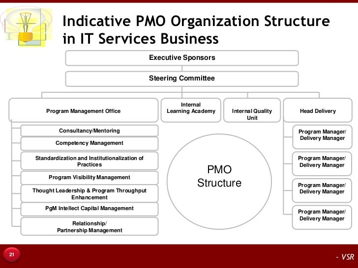 It Services Delivery Program Management Office Pmo