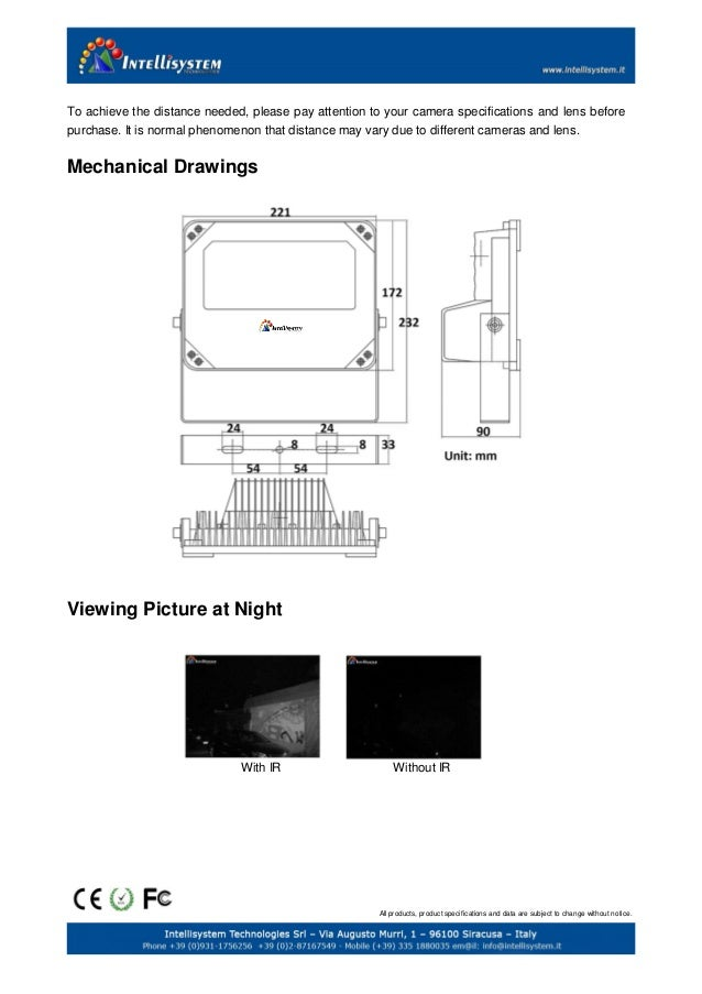 IT-SSE12-IR Infrared illuminator Slide 3