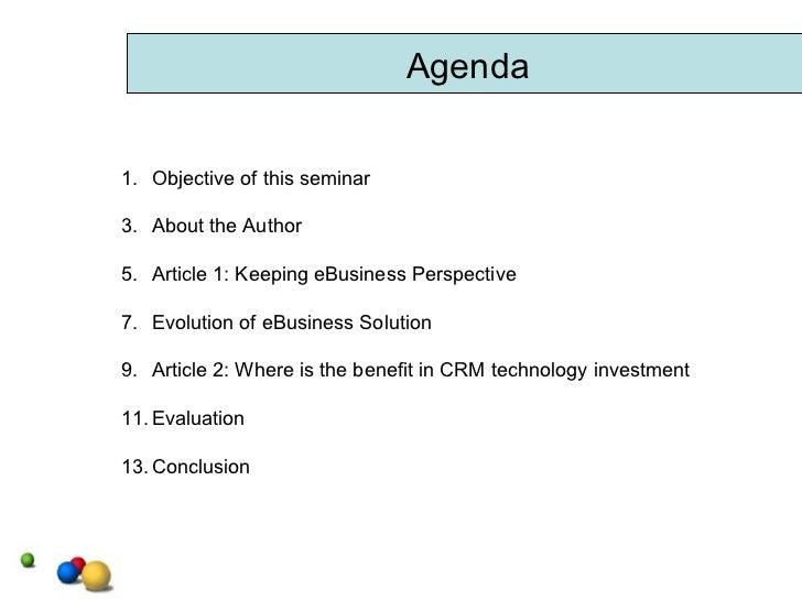 IT Strategic Planning (Case Studies) Slide 2