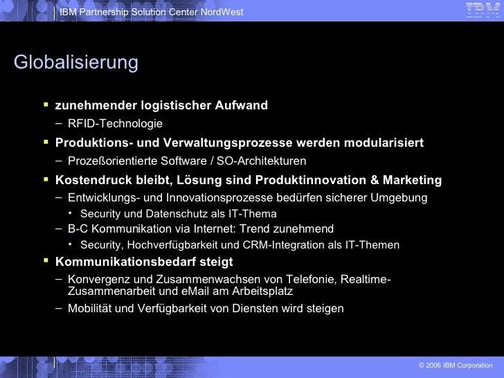 Globalisierung <ul><li>zunehmender logistischer Aufwand </li></ul><ul><ul><li>RFID-Technologie </li></ul></ul><ul><li>Prod...