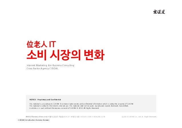 CiDOW | Introduction Business Domain Internet Marketing & e-Business Consulting Cross Factor Agency CiDOW. ㈜시도우(www.cidow....