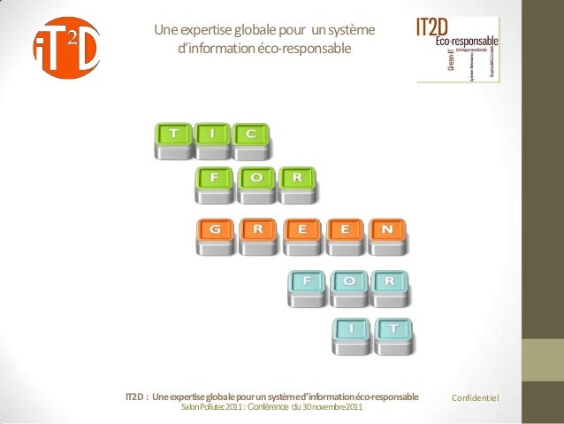 Une expertise globale pour un système          d'information éco-responsableIT2D : Une expertise globale pour un système d...