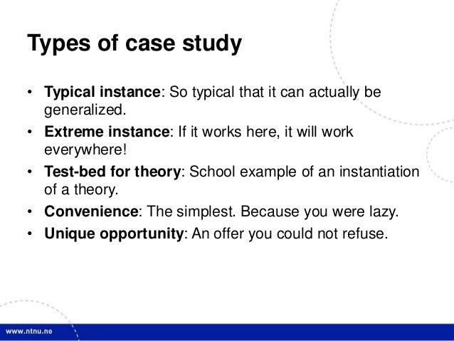 longitudinal multiple case study design