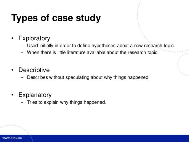 The Value of the Case Study as a Research Strategy
