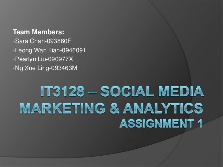 Team Members:<br /><ul><li>Sara Chan-093860F